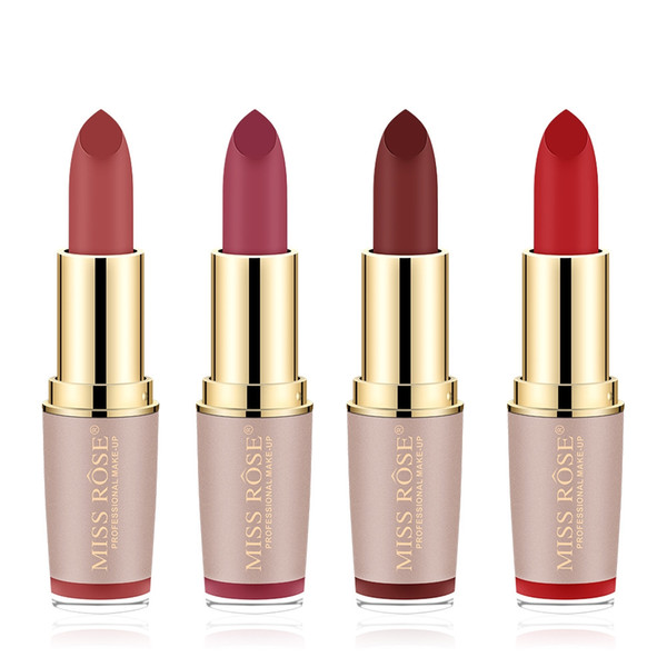Lipstick Waterproof Nude Matte Long Lasting Metallic Lip stick Sexy Velvety Lipgloss Matte Batom Makeup Cosmetics 16 Color Chose