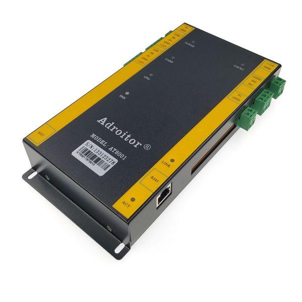 Novità del controllo degli accessi, il protocollo TCP / IP di controllo Singer porta di accesso con le coperture, il supporto di presenza / accesso / sveglia / finger / web / telefono, SN: A-01