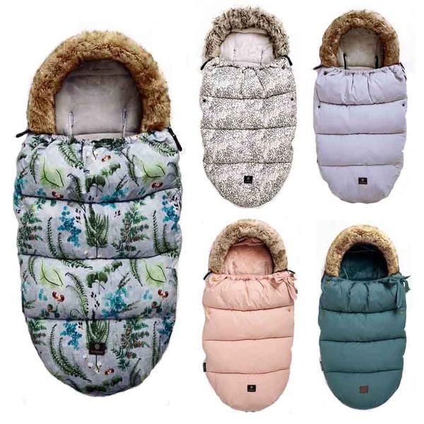 Baby Sleeping Bag Infant Winter stroller bag thick Warm Wheelchair Envelope Sleepsacks Original Brand sleep bag