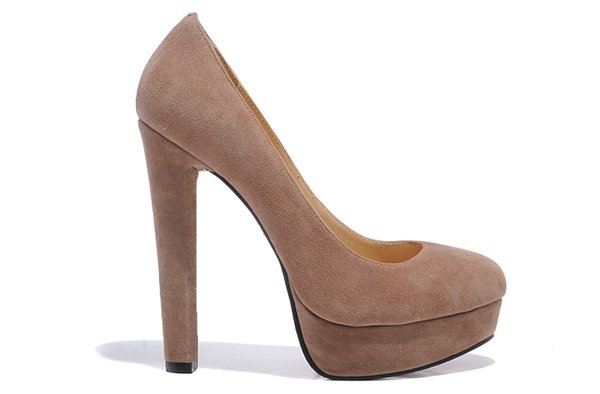 Luxury Round Toes Light coffee External water table Grass green Hot drill platform Women Designer High Heels Shoes Sexy Ladies Wedding shoes
