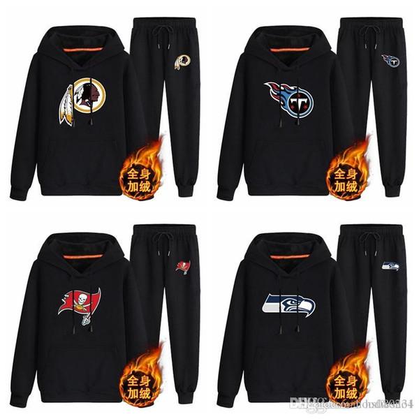 Washington Redskins Tnessee Titans Tampa Bay Buccaneers Seattle Seahawks black 70%cotton 30%polyester Cashmere coordinates