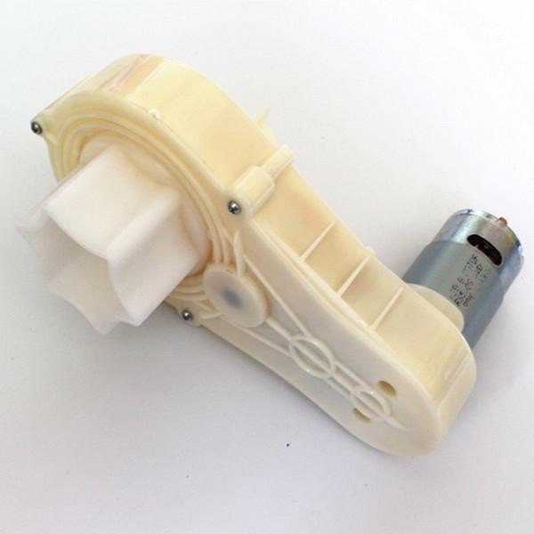 HD6868 Caja de engranajes de automóvil eléctrico para niños con motor, caja de cambios rs550 motor rc, caja de engranajes de automóvil de motor eléctrico para niños, accesorios para autos de bebé