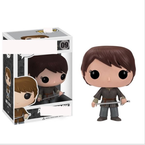 1cps Funko Pop Game of Thrones Arya Stark Vinyl Action Figure With Box #09 Popular Toy Good Quality