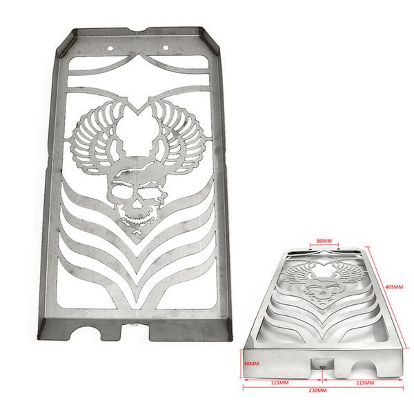 Protezione pannello radiatore protezione griglia raffreddamento radiatore in acciaio inox per Yamaha XVS 1300 Midnightights Star