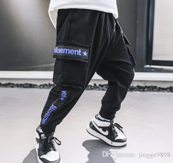 2019 Yeni Bebek Siyah Spor Pants Koreli Pantolon Fabrikası Direkt Satış En çok satan
