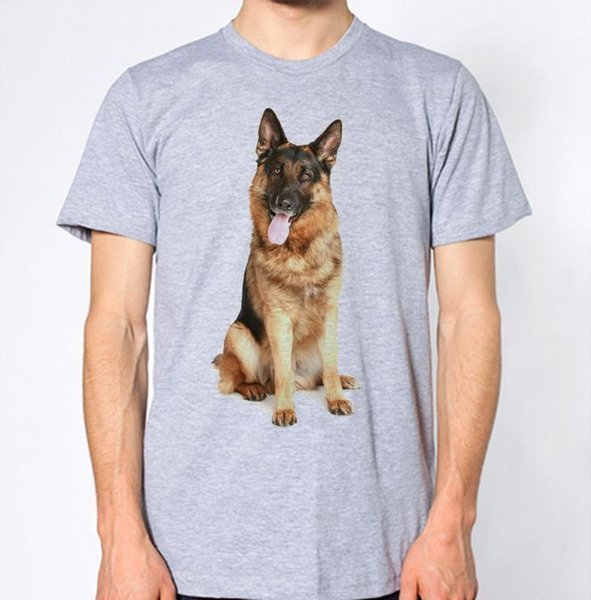 German Shepherd T Shirt Dog Animal Lover Puppy Graphic Design Top Suit Hat  Pink T Shirt T Shirts Print Tees Online From Wellcup, $16 24| DHgate Com