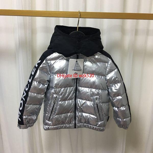 Chaqueta de plumón para niños ropa de diseño para niños chaqueta de plumón impermeable de invierno para niños y niñas abrigo desmontable acolchado