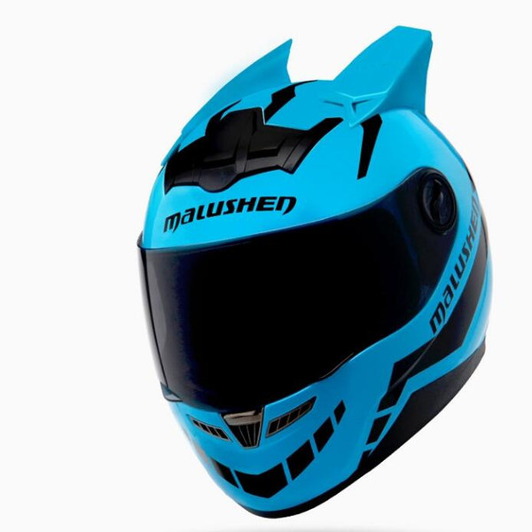 MALUSHUN Motorcycle Helmet Capacetes Motociclismo Flip Up Individuality Helmet Moto Helmet Racing Belt Angle Novelty Casque Moto