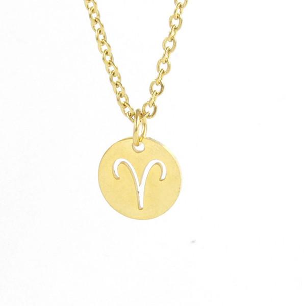 18 Karat Goldkette mit 18k Glück Anhänger Damen Schmuck vergoldet Kette lang 25€