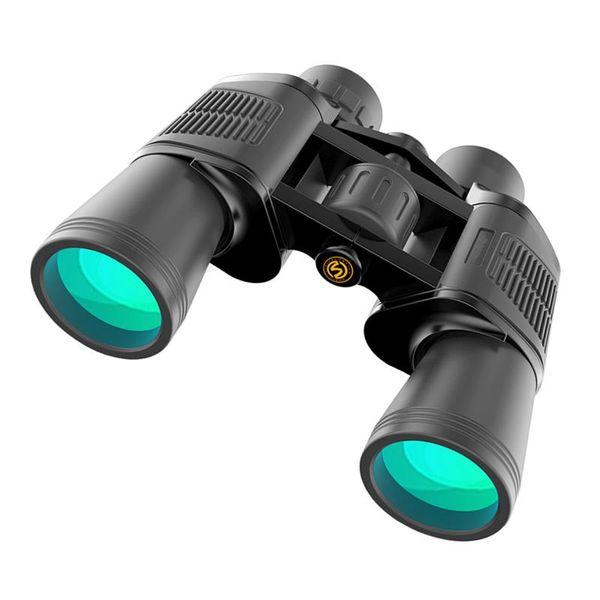 Anti-sis Su Geçirmez Kompakt Dürbün Teleskop Taşınabilir 10x50 Optik Prizma Lens Dürbün Yürüyüş Kamp Seyahat için Kapsam