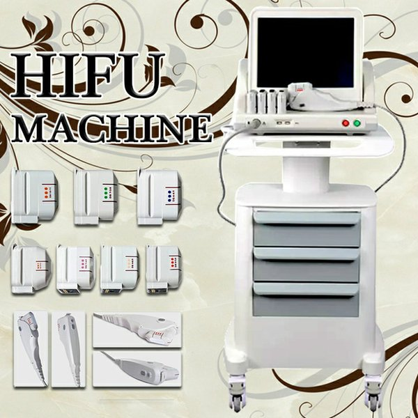 Best At Home Anti Aging Devices 2020.2020 New Hifu Facial Lifting Beauty Machine For Face Body Anti Aging Ultrasonic Slimming Salon Wrinkle Removal 3 Or 5 Cartridges Online Beauty Supply