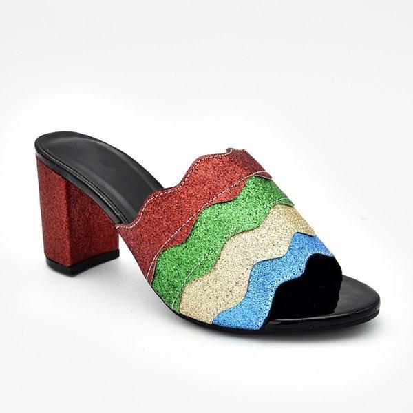 Designer De Luxe Chaussures Femmes 2019 Luxe Femmes Chaussures Décoré Avec Strass Chaussures De Printemps Plate-forme Femmes Élégant Parti Pompes