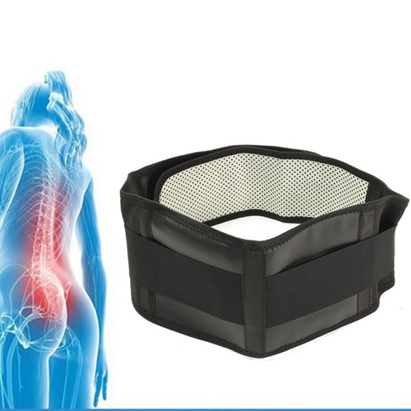 Adjustable Tourmaline Self-heating Magnetic Therapy Waist Support Belt Belt Lumbar Back Waist Support Brace Double Banded
