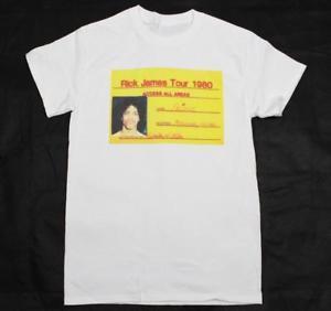 Принц RiDesign Джеймс тур мини белая футболка S XXXL с коротким рукавом и музыка motown
