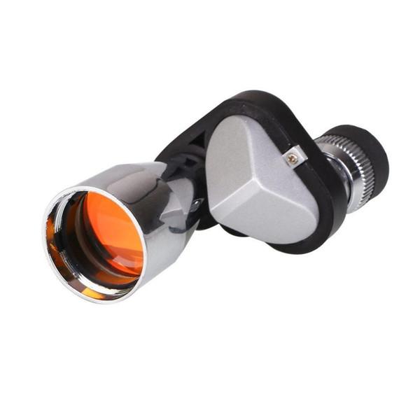 top popular Wholesale- 8X20 Mini Monocular Scope Spotting Golf Range Finder Telescope Compact Pocket Golf Training Aids 2019