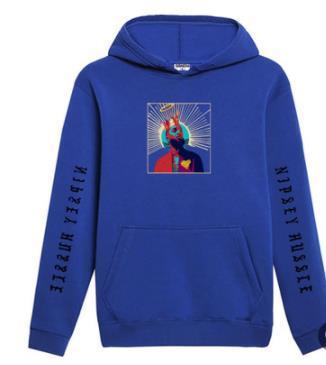 Mens R.I.P nipsey hussle Hoodies Spring Autumn Fleece Rap Hiphop Casual Sweatshirts