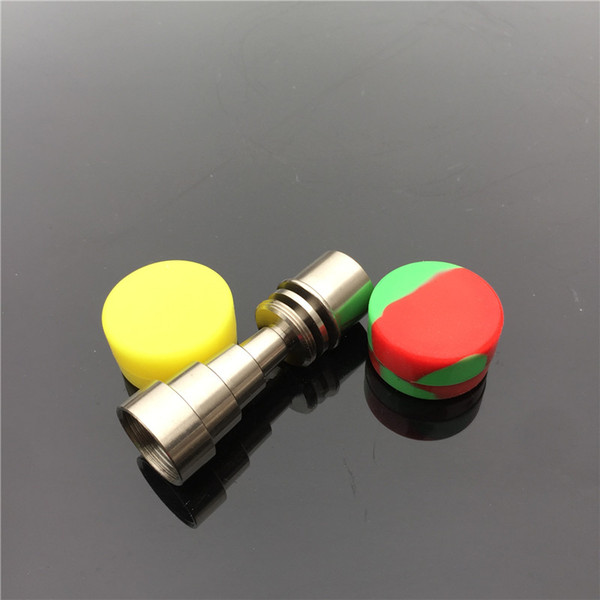 10mm& 14mm&19mm titanium nail with male and female joint for Fits all joints free with silicone bowl