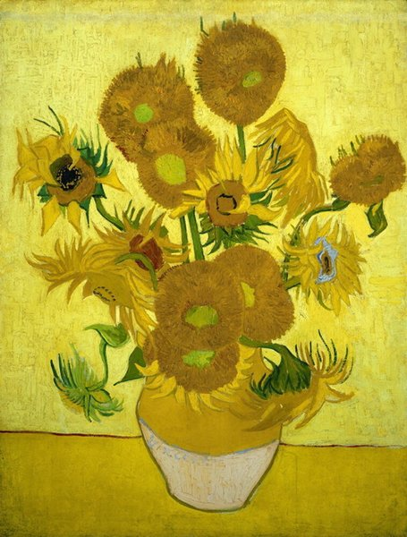 Vincent Van Gogh ayçiçekleri Wall Art Ev Dekorasyonu Handpainted HD Baskı Yağlıboya Resim Tuval On Wall Art Canvas Resimler 190.917