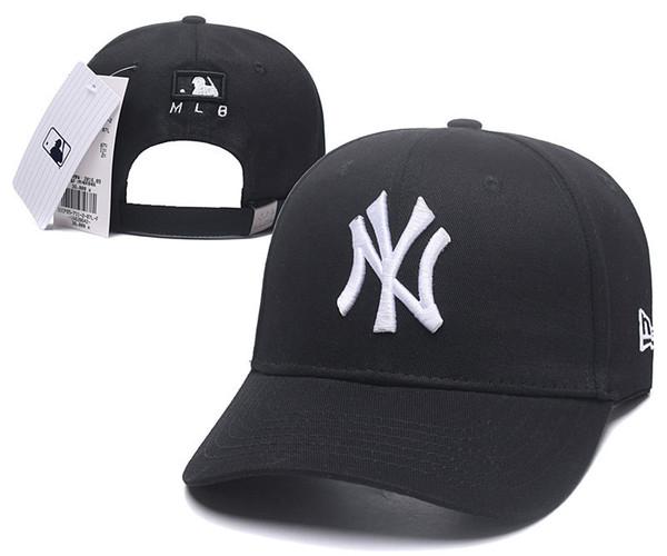 f55dc1fe4b05 Compre 2019 Diseñador De Gorras Negras Moda Sol Sombrero Marca De Lujo De  Alta Calidad Gorra De Béisbol Hombres Y Mujeres Deportes Sombreros Casuales  ...