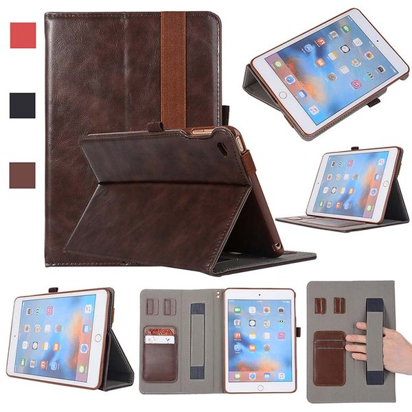 Classic Half Genuine Leather Shell Cover Case For iPad Mini 4 pro 11 Shell Cover Case Shockproof PU Leather Case