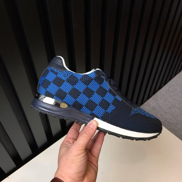 2019 New Paris velocidade Trainers Knit Sock sapatos de luxo Originaldesenhador das sapatilhas dos homens baratos alta qualidade superior Shoes Casual Box v01