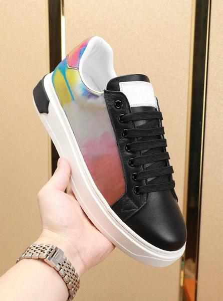 LUXEMBURGO sapatos Designer Rivoli Boombox Casual Shoe 3M couro branco Marca instrutor Homens Low Top Fashion Lazer sapatos com o tamanho da caixa de 36-44 e1