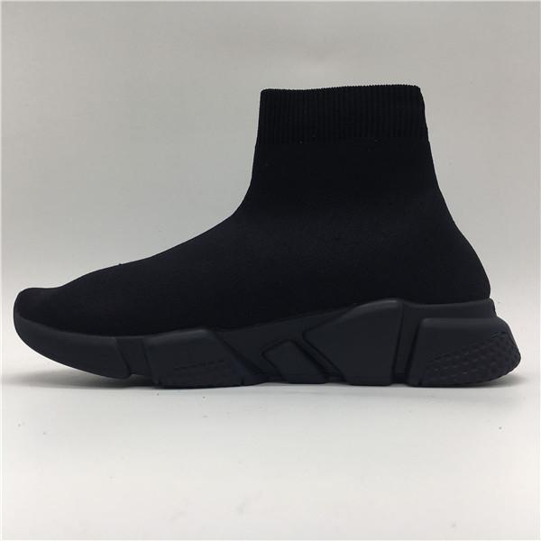 2019 Designer Sneakers Speed Runner Trainer Black Red Gypsophila Triple Black Fashion Flat Sock Boots Casual Shoes Speed Trainer Runner
