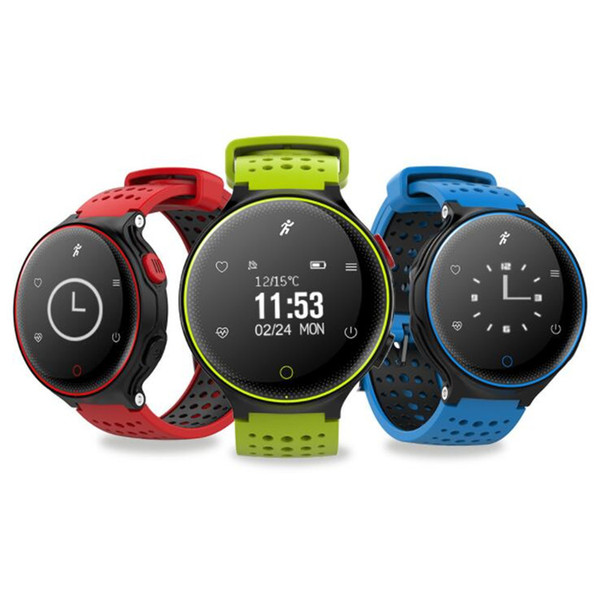 wholesale X2 blood pressure heart rate monitoring touch color screenIP68 waterproof information reminder Bluetooth health sports smart watch