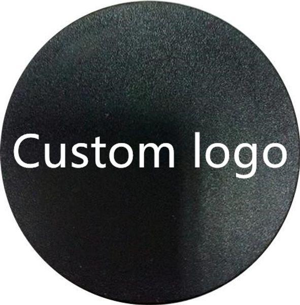 Logotipo personalizado Soporte del teléfono y agarre su propio soporte de teléfono para tabletas para iPhone 7 Universal con paquete azul