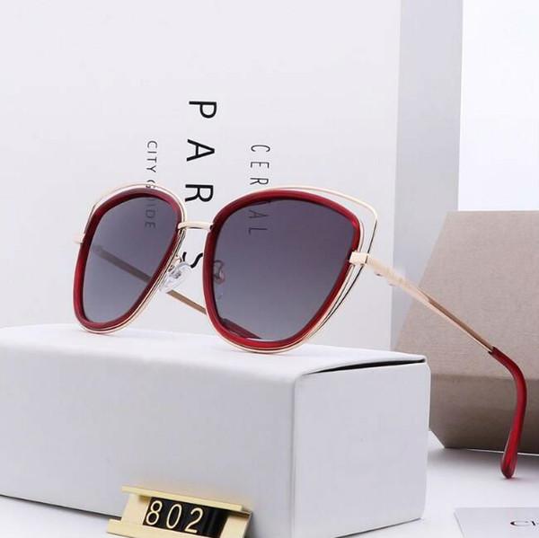 Toptan-kadın moda güneş gözlüğü Polarize güneş gözlüğü polaroid lens gerçek renk kaplama moda trend 5 renk seçimi
