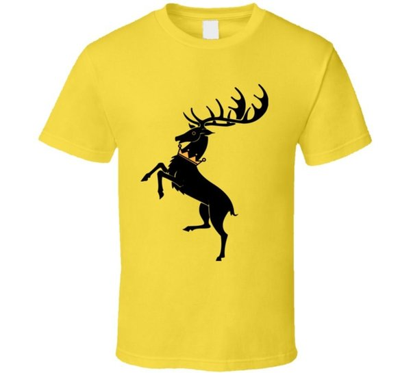 House of Baratheon Ours Is Fury Games Tv Series Thrones Daisy T Shirt Funny free shipping Unisex Tshirt top