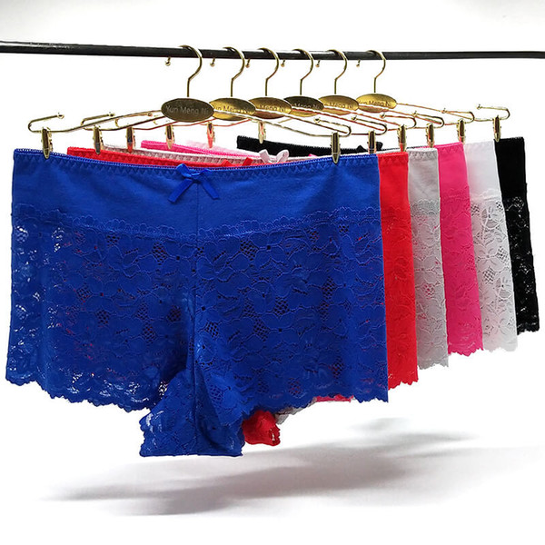 Pack of 36 Middle Rise Young Lady boxer short sexy lace hipster Hot knickers boyleg lady cheeky panties lingerie underwear women