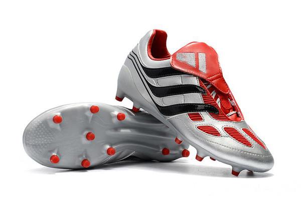Новая спортивная обувь на открытом воздухе Predator Precision FG Soccer Limited Edition Blue Champions League V1Beckham Mania Soccer футбольные бутсы-qw2d6sadqw