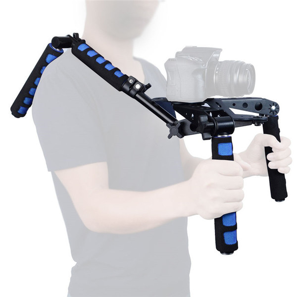 DSLR Rig Movie Kit Shoulder Mount Support Set Stabilizer fo rCanon 77D 760D 800D 70D 80D 5D II 7D 600D Nikon/Sony Cameras