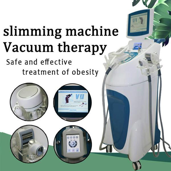 Nuevo diseño infrarroja Velashape adelgazar máquina Peso Equipo pérdida de vacío del rodillo que adelgaza la máquina de radiofrecuencia Cuidado de la piel facial