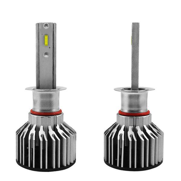2PCS IP68 Car LED Headlight Bulb Kit S6 Car LED Bulbs Lamp H1 H11 9005 9006 H4 Waterproof Auto Driving Light