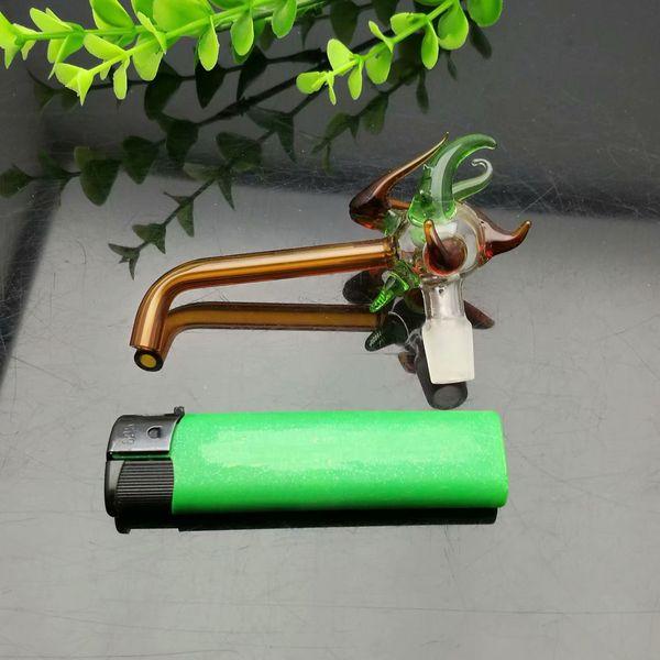 Цветной кран стекло walkboard Оптовая стеклянные водопроводные трубы табачные аксессуары стекло Золоуловитель