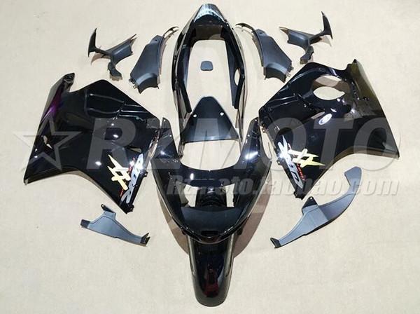 Nuevo ABS Molde de inyección Carenado Ajuste para Honda 1996-2007 CBR1100XX 96 97 98 99 07 CBR 1100XX Blackbird Motorcycle Fairings custom negro brillante
