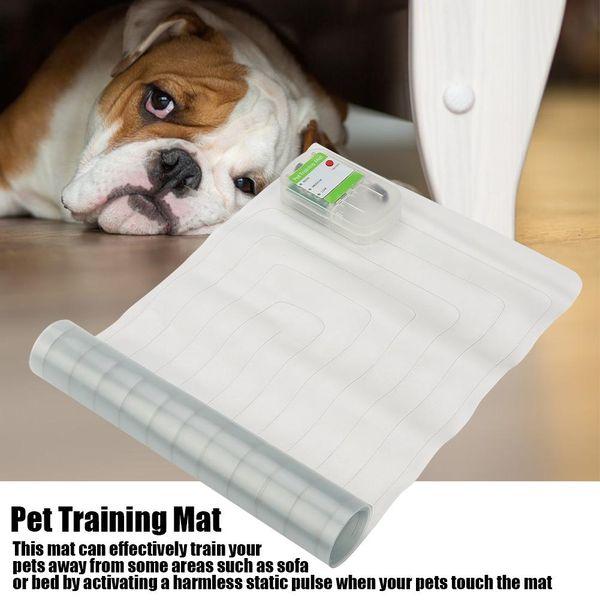 Köpek Şok Mat Pet Scat Paspaslar Güvenli Kapalı Köpek Kedi ScatMat Elektronik Evcil Hayvan Eğitim Mat kapalı tutmak için Mobilya Kanepe 3 Boyutları