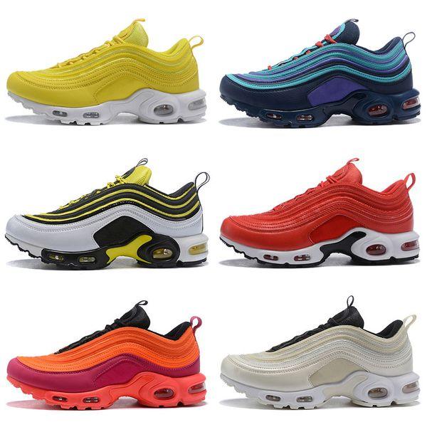Designer Plus Tn Triple White Black Pink Outdoor Shoes OG Metallic Gold Silver Bullet Mens Trainers Woxmen Sports Shoe Sneakers