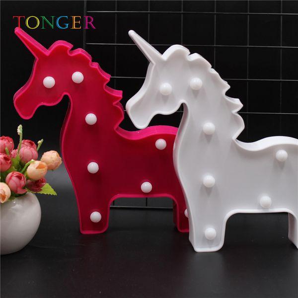 3D For Lighting Decoration Party Supplies Children Room Desk Decor LED Sculpt Lamp Wall Home Night Light 3D Giraffe Shape 2019 new