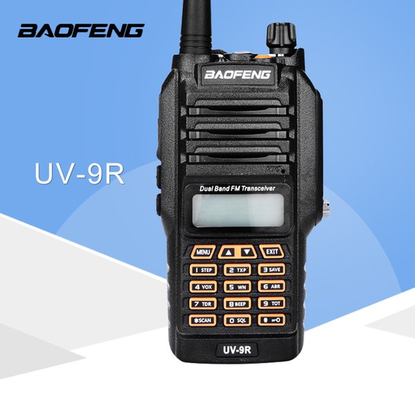 Baofeng UV-9R Handheld Walkie Talkie 8W UHF VHF UV Dual Band IP67 Waterproof Two Way Radio Interphone Transceiver