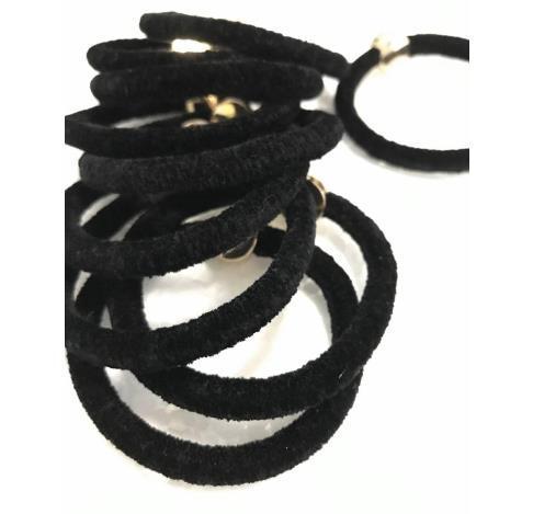 Lazos de pelo de buena calidad con el logotipo famoso decoración de metal velet cuerda patrón clásico 10pcs mucho