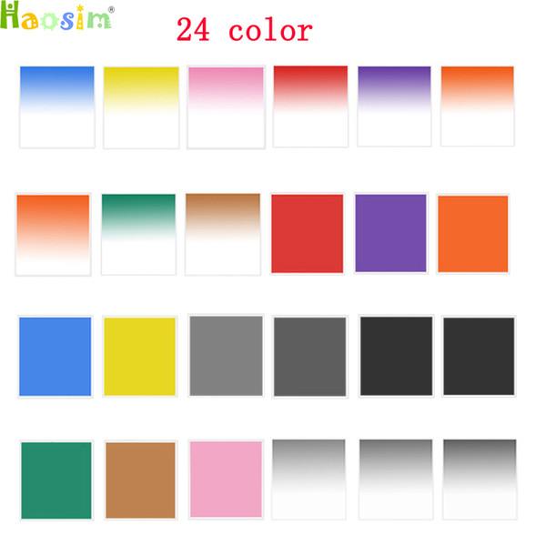 best selling Camera Graduated Full Color Lens Filter Neutral Density Square Resin Filters for Cokin P Series For DSLR Camera Lens