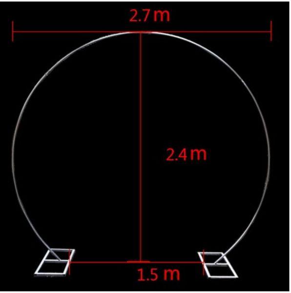 Forma de anillo redondo