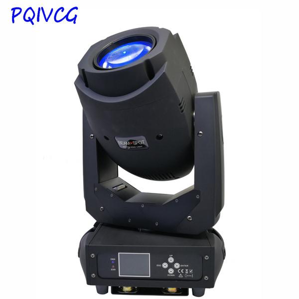 Lampada da 200W modello GOBO LED Spot Wash Zoom 3in1 Lampada a testa mobile 18 Canali DMX Professional DJ Stage Culb Disco Light