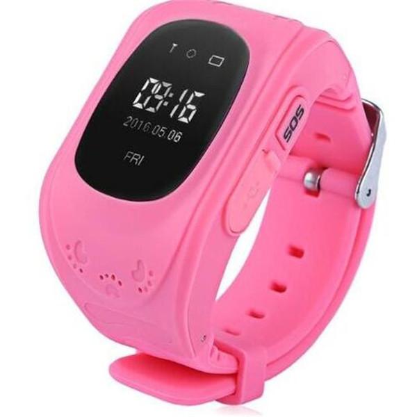 New Q50 Wristwatch Smart Kid Safe GPS Smart Watch SOS Call Location Finder Locator Tracker Baby Anti Lost Monitor Pedometer