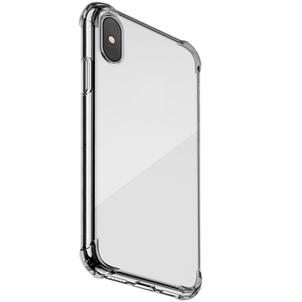 For iPhone 6 7 8 X XR XS MAX Case,Trasparente High Quality TPU Soft Airbag Protective Ultra-Thin Anti-Drop Trasparente Mobile Phone Back She