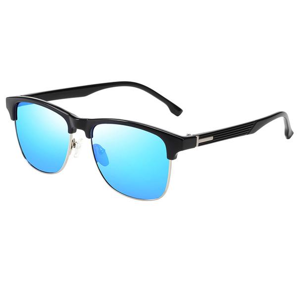 Top Men's Women's Brand Gold Small Frame Sunglasses New Fashion Designer Glasses Top Quality Anti-UV400 Lens Square Frame Sunglasses