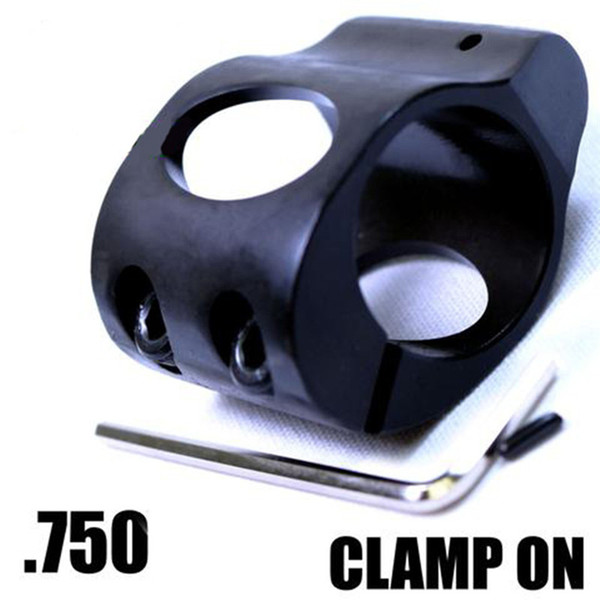 Steel Low Profile Micro Block 0.75 Inch steel Gas Block with pin for hunting gun accessories For .223 5.56 AR15 Gas Block